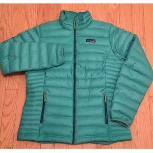 Patagonia Down Sweater Jacket Large Blue